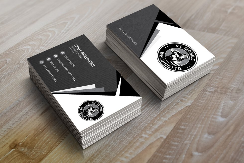 V I Mobile Welding Business Card A
